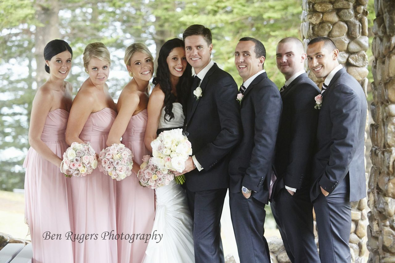 Real-life Wedding: Brooke + Brendan