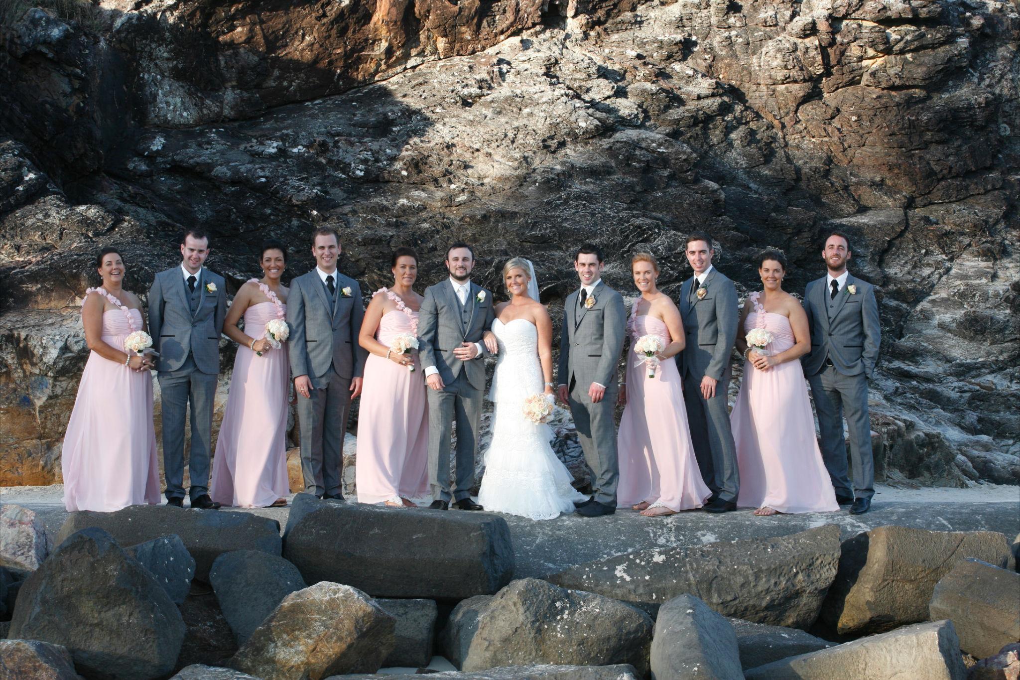 Real Life Wedding Sandy David