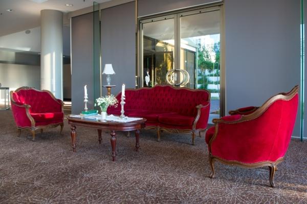 Velvet lounge Gatsby style
