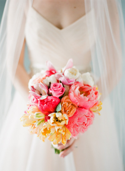 Wedding Flowers Bouquet and Bride