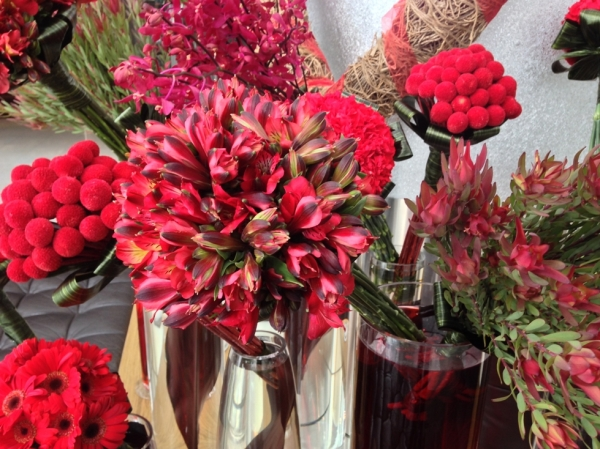 Valentine's Day Flower Display Vases