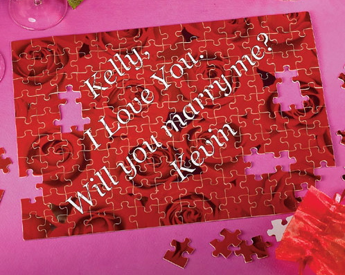 Puzzle Marriage Proposal