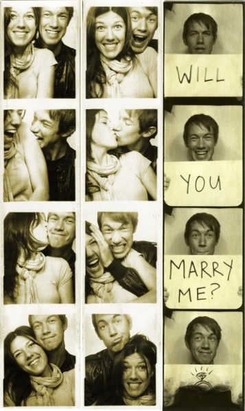 Photo Booth Will You Marry Me Pictures