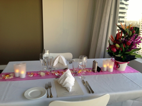 Romantic dinner for 2 in luxury Suite with ocean views