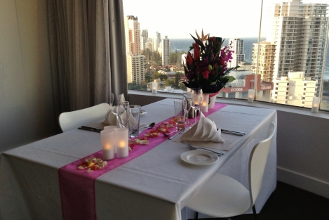 Romantic Dinner for 2 with Ocean Ciew in luxury Suite