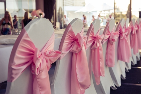Sofitel-Gold-Coast-Broadbeach-Wedding-Reception-Cocktail-Chair-Cover-Pink-Sash-Bridal-Table